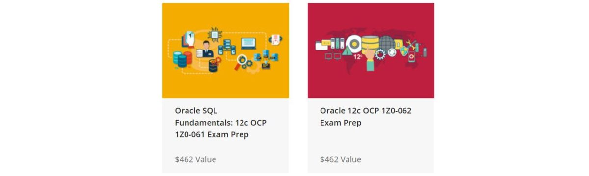 The Oracle Professional Certification BIG Data Training Bundle