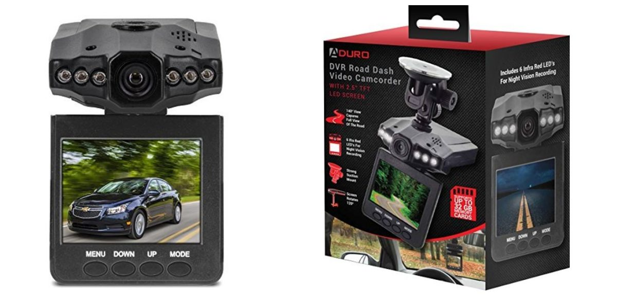 Protect yourself on the road with a U-Drive Dash Cam