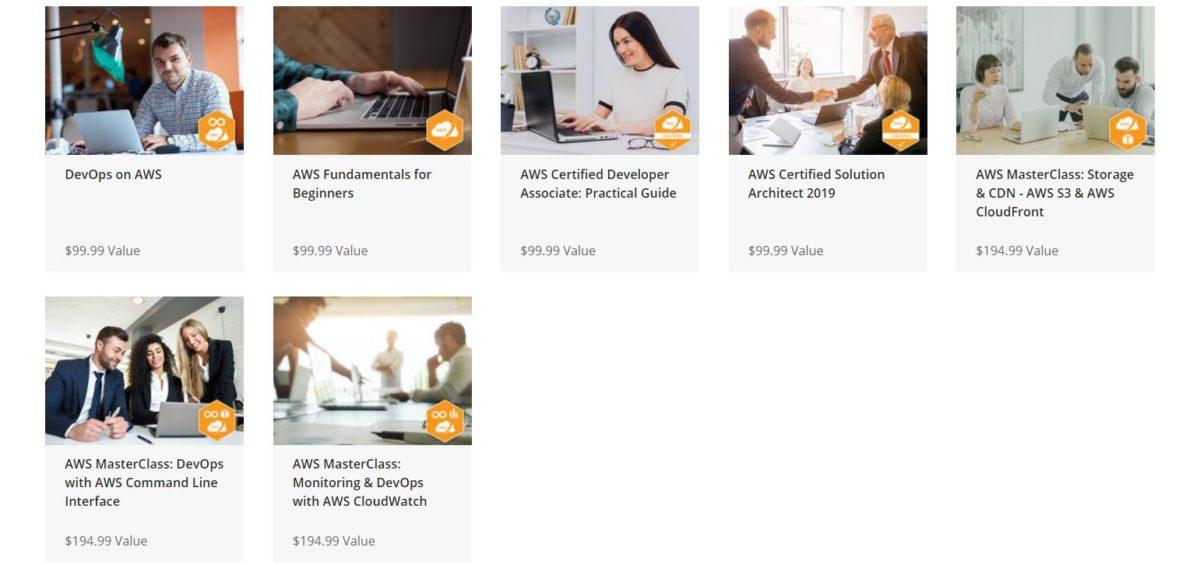 AWS Amazon Web Services Certified Architect Developer Bundle 2019