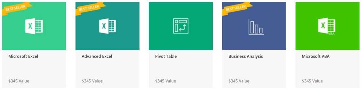 The 2019 Microsoft Excel Bootcamp Bundle