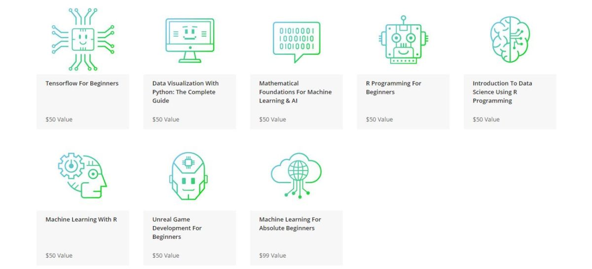 The Machine Learning Masterclass Bundle Courses