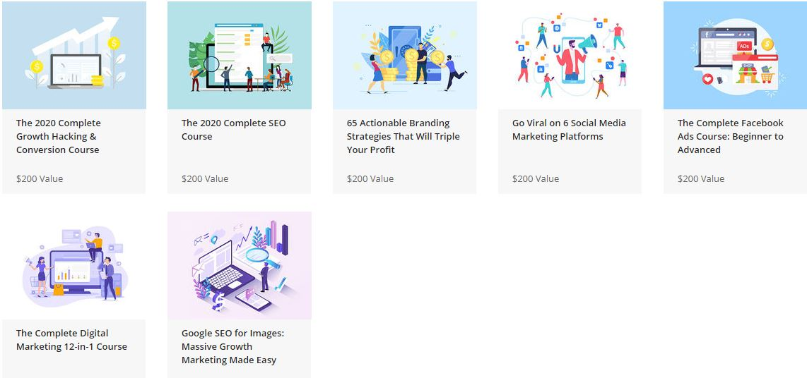 The Complete 2020 Google SEO and Growth Hacking Bundle