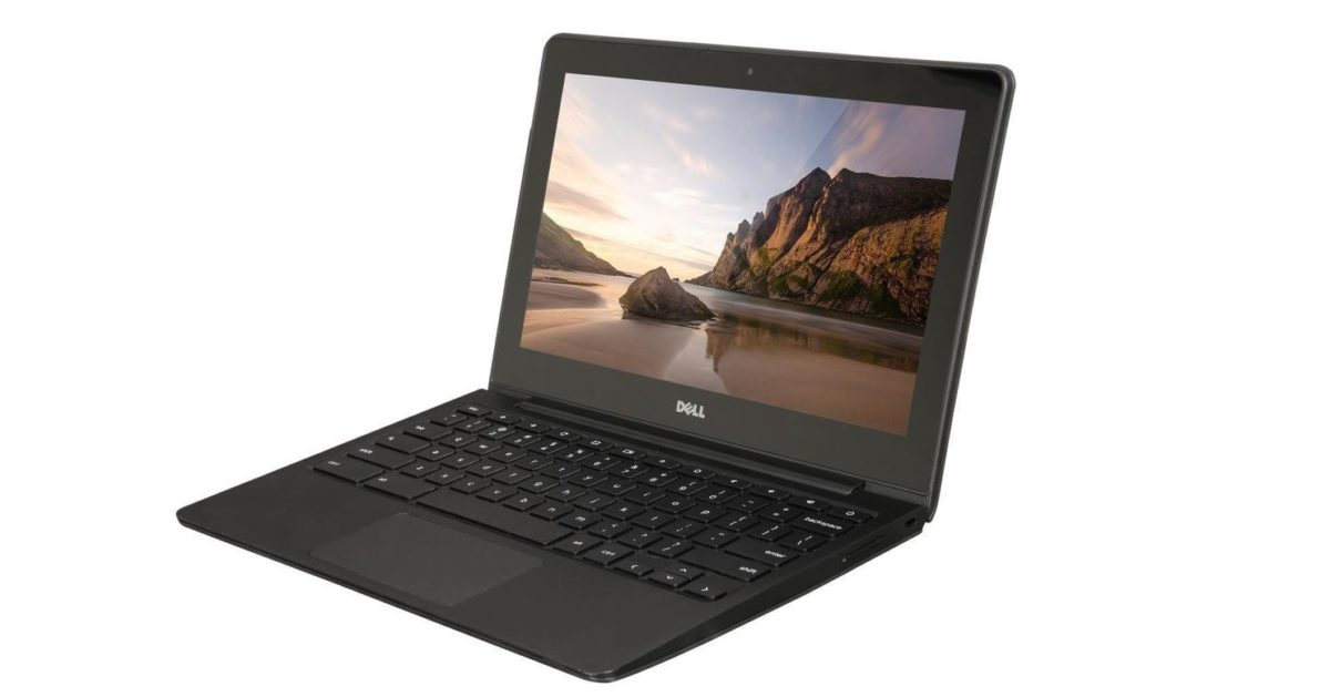 Pick up a refurbished Dell Chromebook from just $75