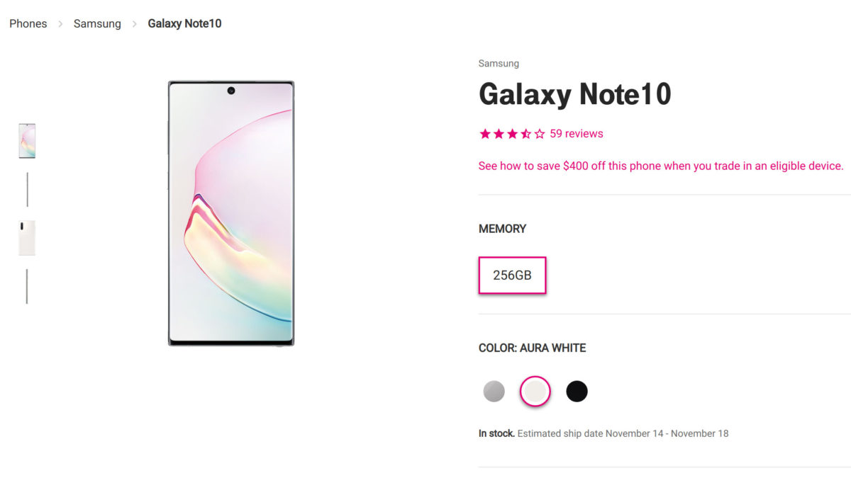 Deal: T-Mobile's holiday BOGO sale includes latest Samsung Galaxy devices