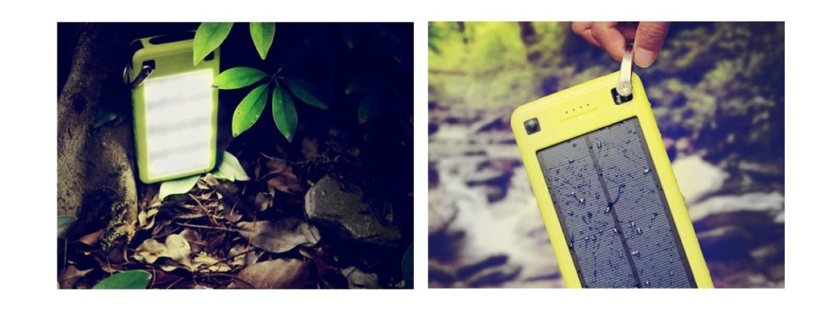 Supercharge your adventure with a 26,800mAh SolarJuice battery