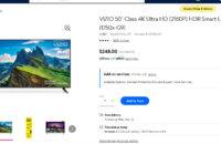 Walmart early Black Friday deal on a Vizio TV