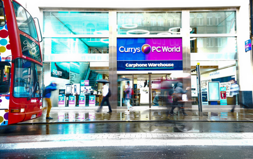 Currys PC World store Black Friday