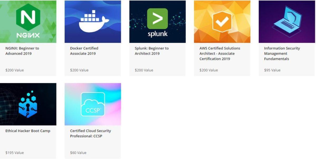 Information Security Bundle courses