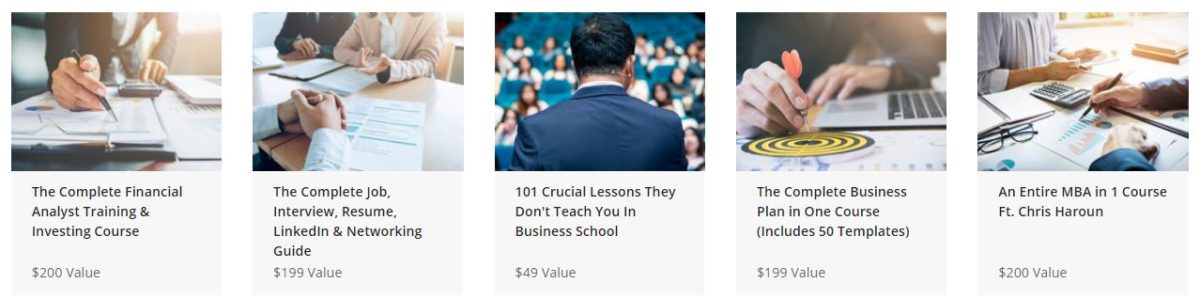 The Ultimate MBA in 1 Bundle Ft. Chris Haroun