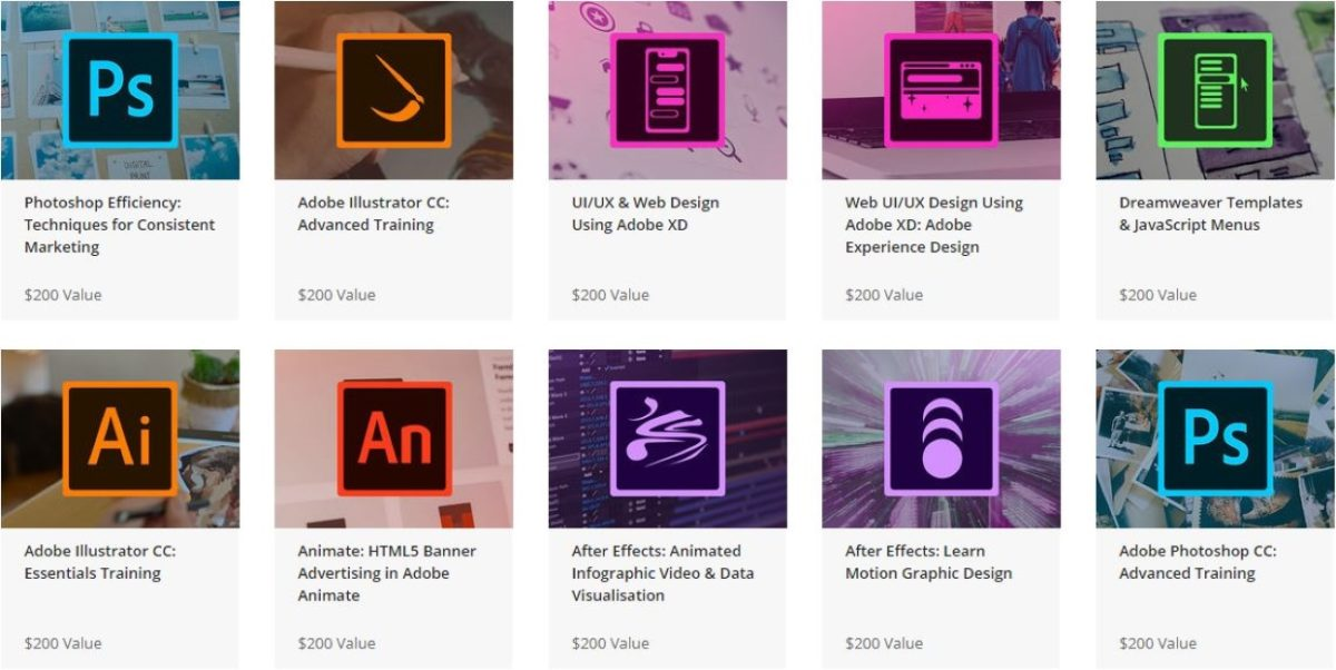 The Ultimate Adobe CC Training Bundle