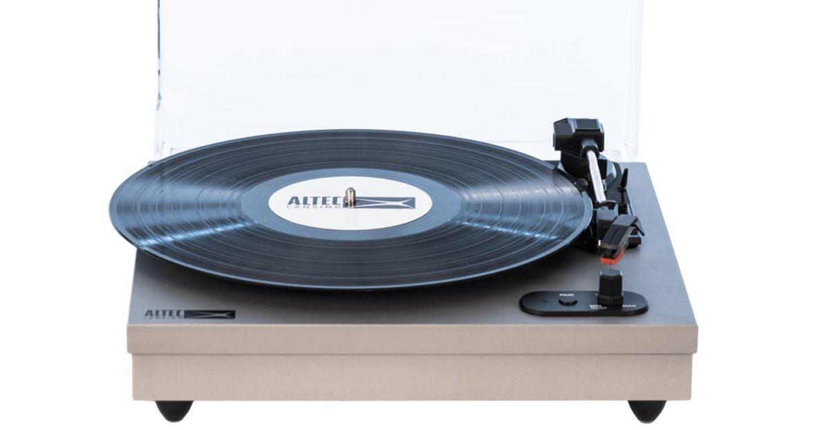 Altec Lansing ALT 500 Turntable