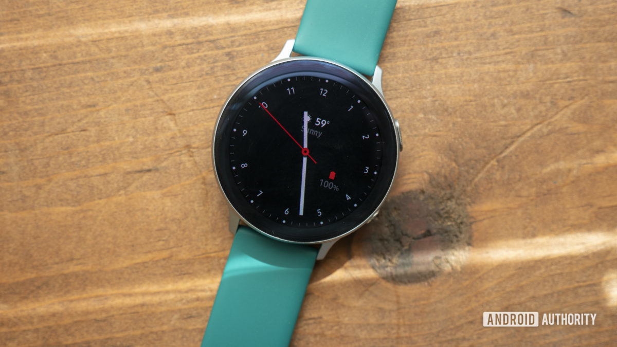 samsung galaxy watch active 2 review watch face clock face 3
