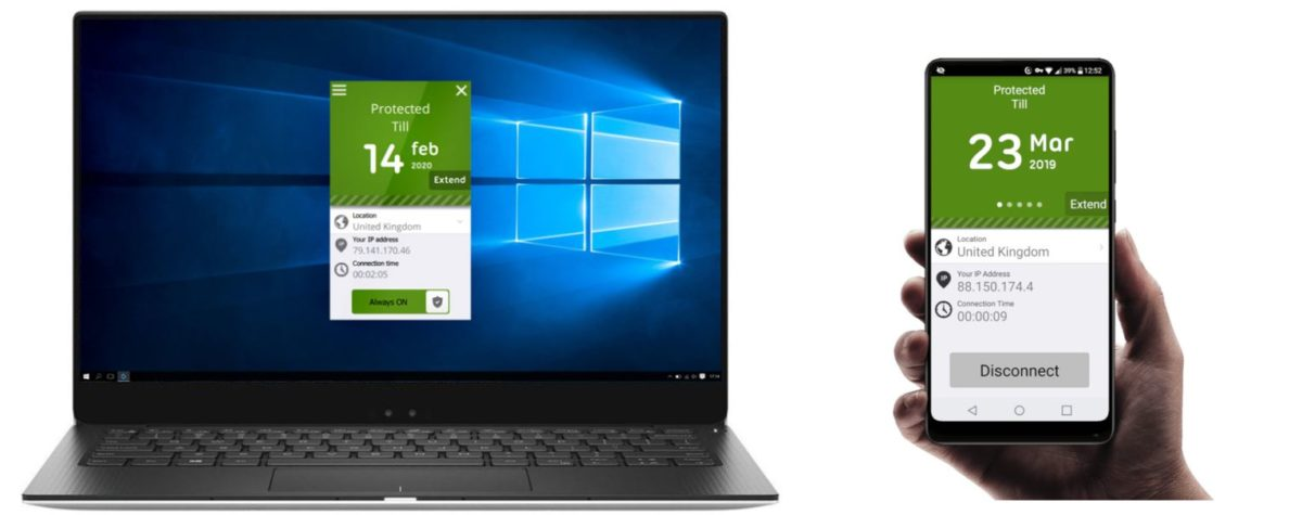 Seed4Me VPN Laptop Android