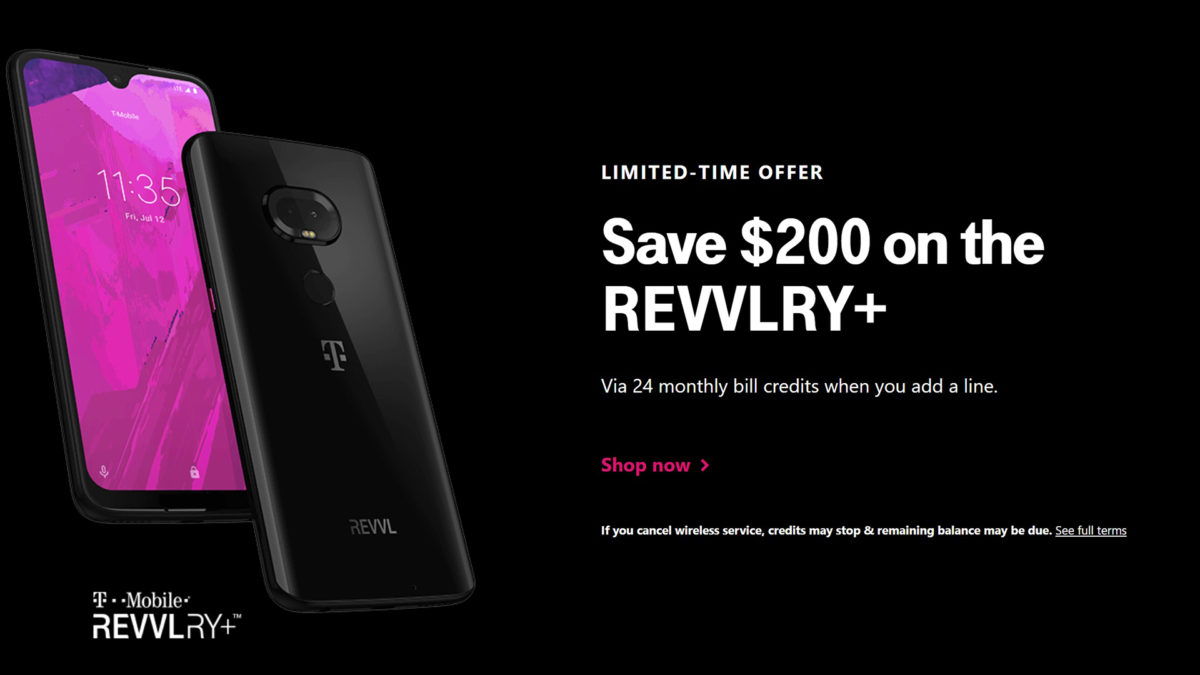 T Mobile Deals Revvlry Plus