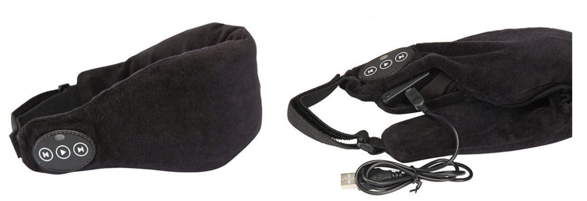 Focus on your sleep music with a Bluetooth Eye Mask