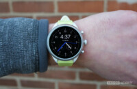 fossil sport smartwatch oled display watch face