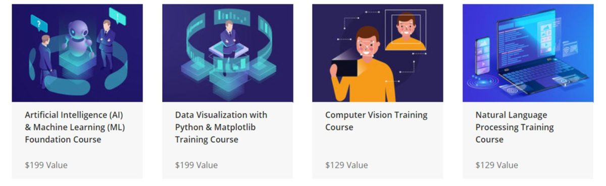 The Essential AI and Machine Learning Certification Training Bundle