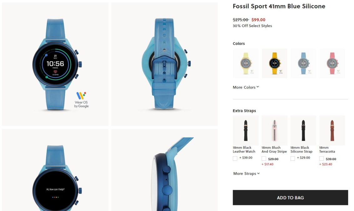 Fossil Sport Deal Image