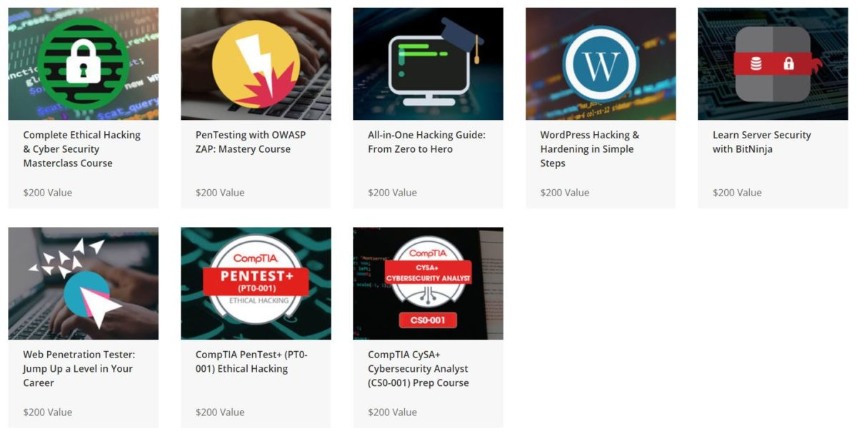 The 2020 Premium Ethical Hacking Certification Bundle