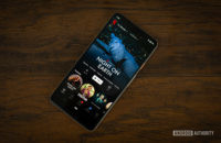 Netflix best TV Shows section on smartphone 2
