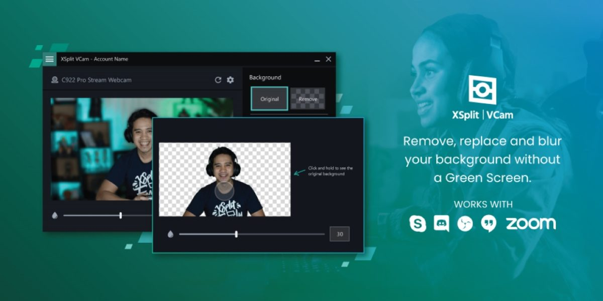 Deal: Vamp your video-call background with XSplit VCam