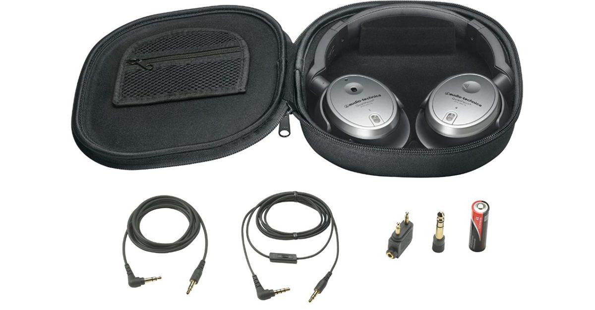 Refurb deal: Audio-Technica QuietPoint headphones for just $69.99