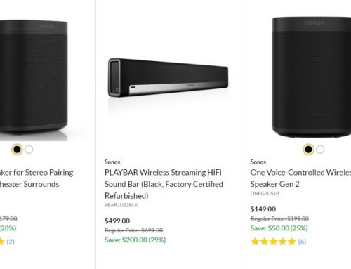 Audio deals: Save on Sonos speakers, Bose headphones, and AirPods