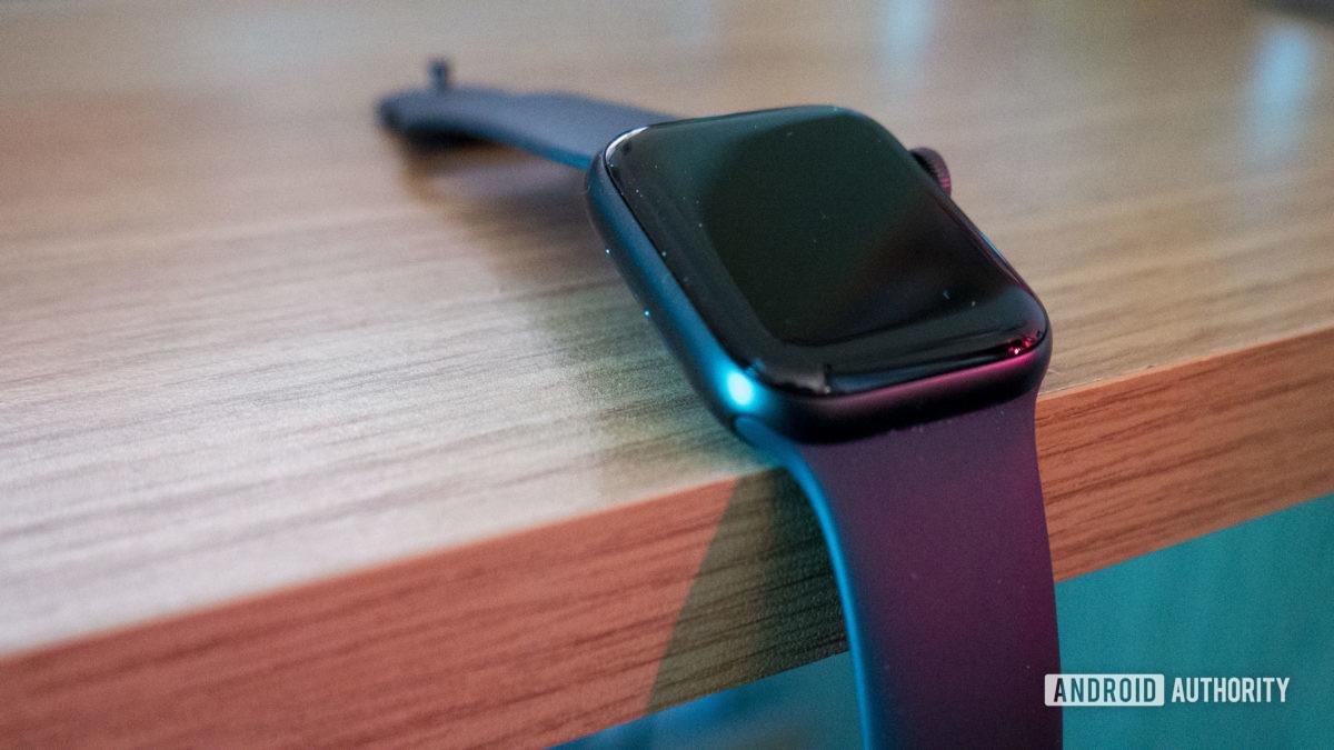 Apple Watch Series 5 On Desk