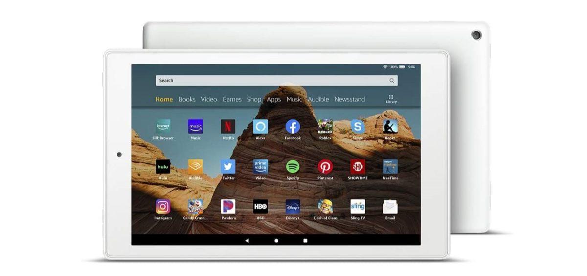 amazon fire 10 hd tablet