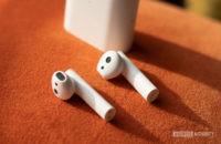 Close up shot of Xiaomi True Wireless Earphones 2