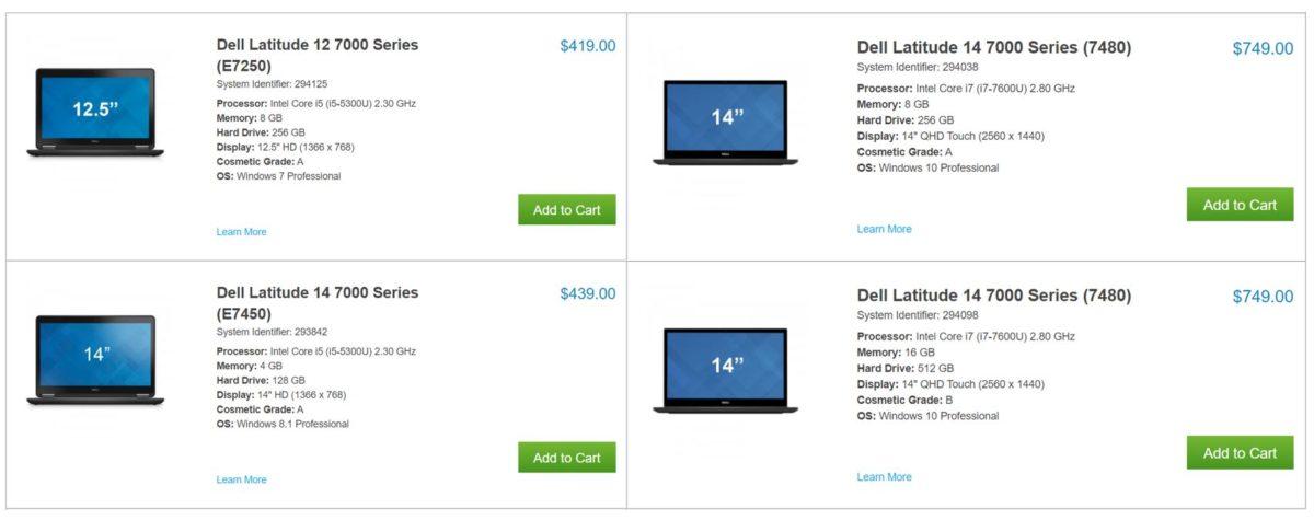 Refurbished Dell Laptop Deals
