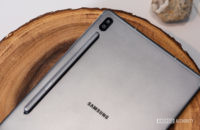 Samsung Galaxy Tab S6 on table with S Pen