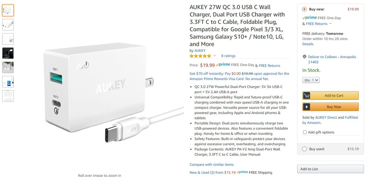 Deal: Save up to 58% on Aukey chargers and speakers
