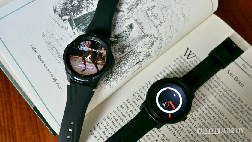 Mobvoi TicWatch E2 and S2 fitness