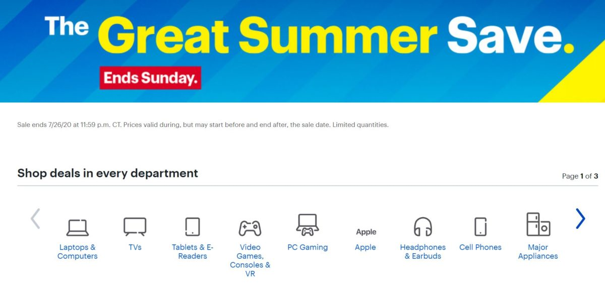 Best Buy Great Summer Save