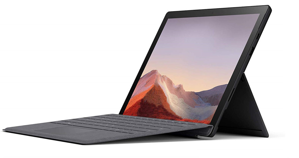 Microsoft Surface Pro 7 on best laptop deals list