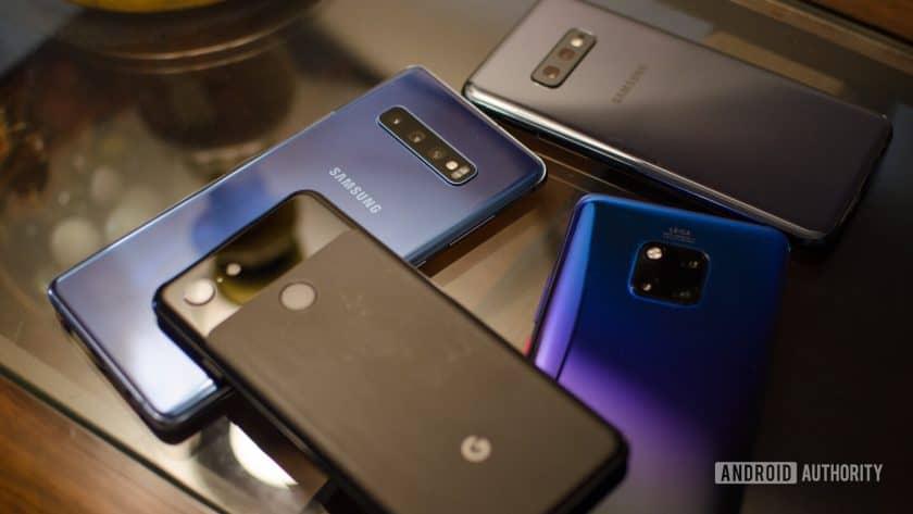 Samsung Galaxy S10 vs Mate 20 Pro vs Google Pixel 3