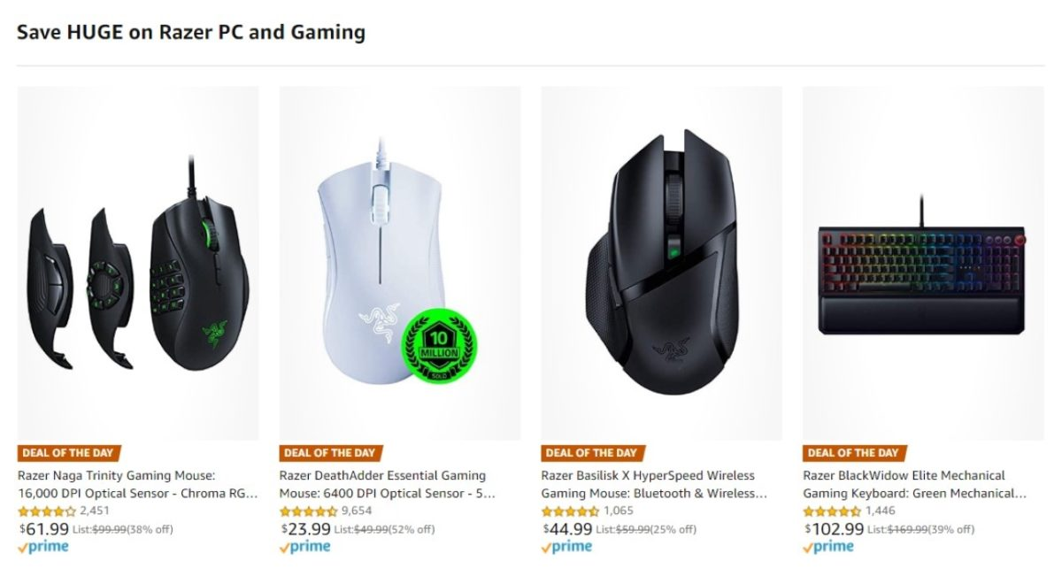 razer amazon deals