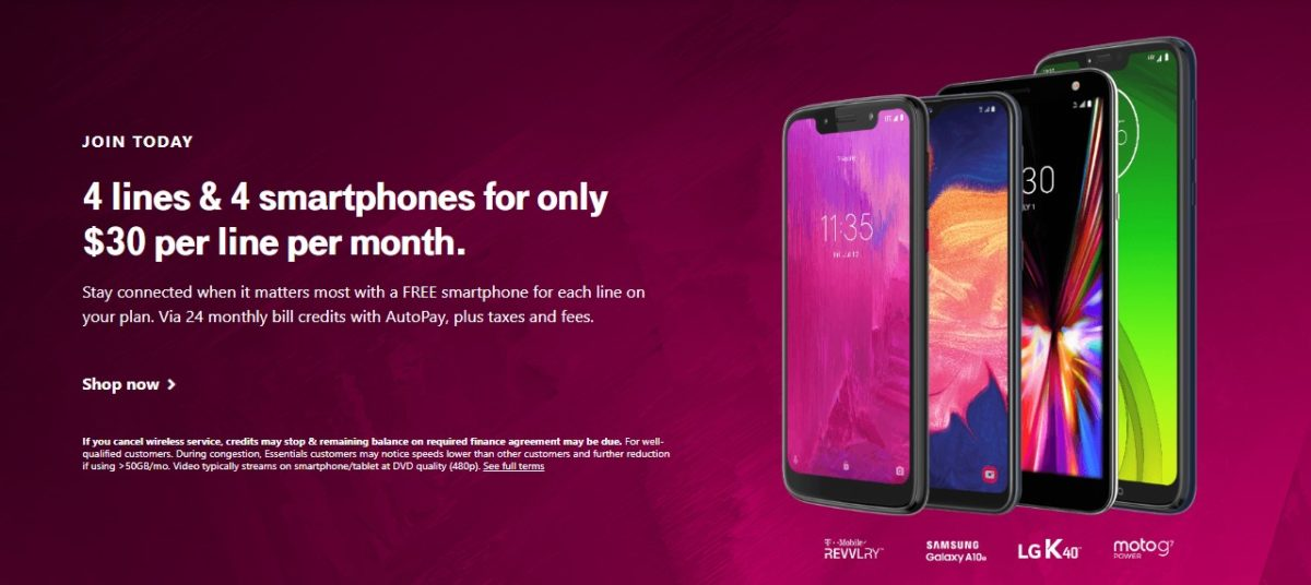 t mobile free phone deal